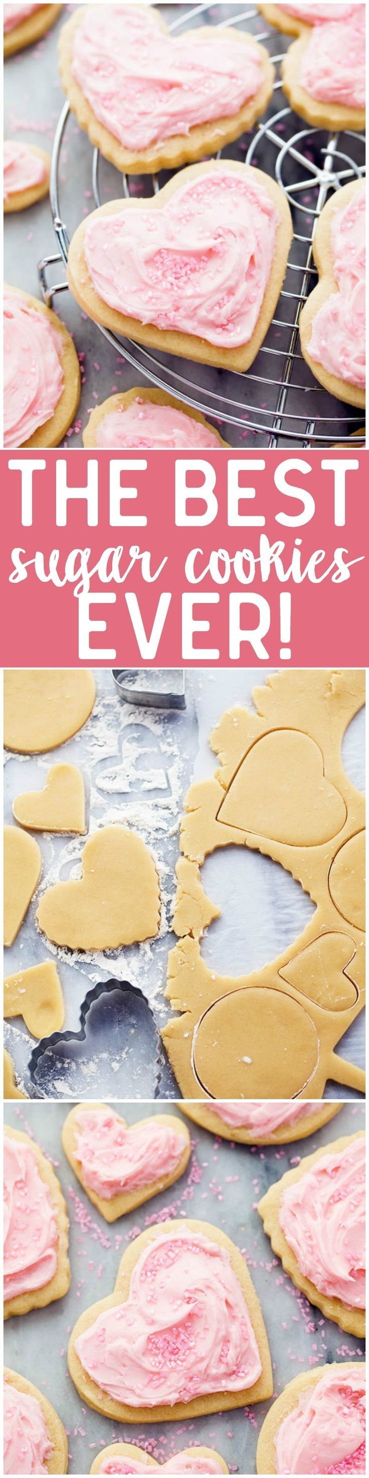 The BEST sugar cookie recipe that you will EVER make! therecipecritic.com