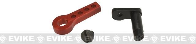 Retro Arms CNC Machined Aluminum Trigger Safety Latch for V2 Gearboxes - Red | Evike.com