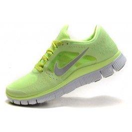 Nike Free Run+ 3 Damesko Lysgrønn Grå | billig Nike sko | Nike sko norge | kjøp Nike sko | ovostore.com