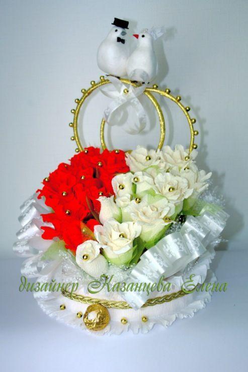 Gallery.ru / Фото #14 - свадебные композиции с конфетами - kazantceva