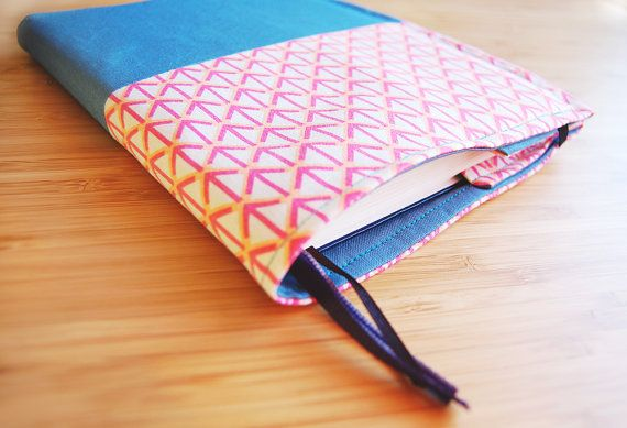 A5 notebook cover arrow fabric cover for Bullet by FindingNorth