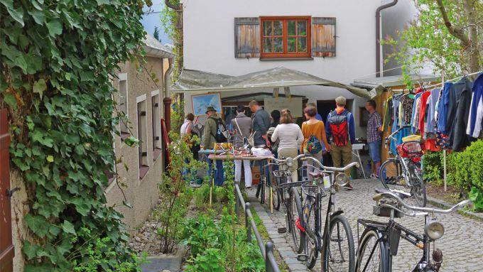 Hofflohmarkte Flohmarkt Munchen