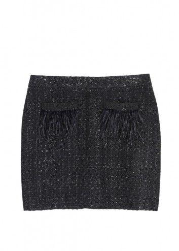 Jupe Tweed plume - Image 2