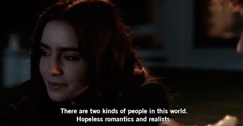 Stuck in love- Hopeless romantics and realists.