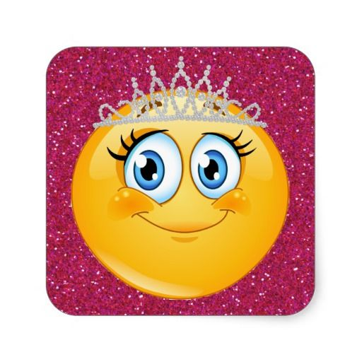 http://www.zazzle.com/princess_smiley_face_sticker_srf-217134857384022791  ...  Princess Smiley Face Sticker - SRF
