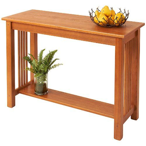 Manchester Wood Mission Sofa Table