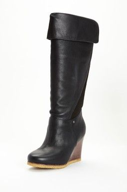 UGG Ravenna Tall Wedge Boot with Cuff