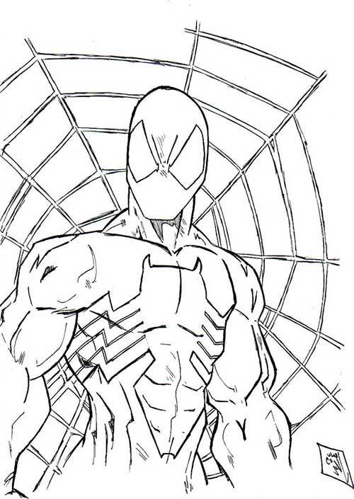 40 desenhos do homem aranha para baixar e colorir lugares para