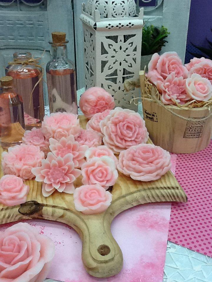 Sabonete Flores