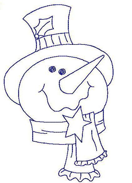 Redwork Snowmen and Mittens Machine by StitchXEmbroidery on Etsy