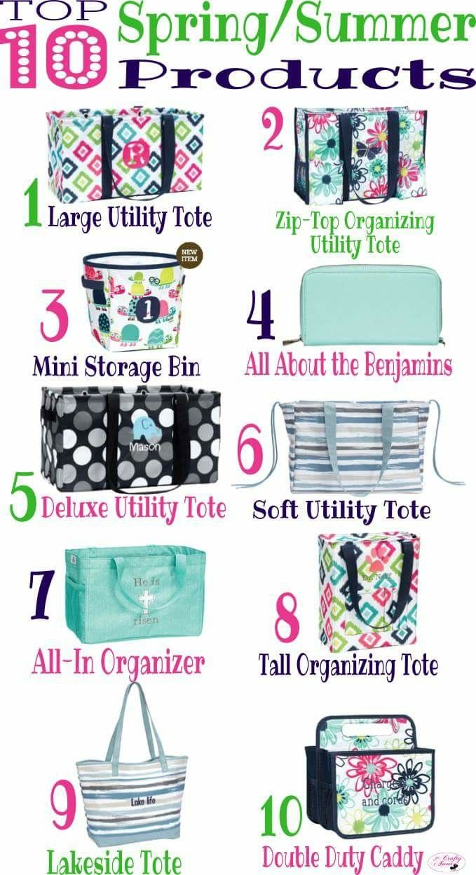 Here is a look at Thirty-One Gifts Top 10 this Spring!