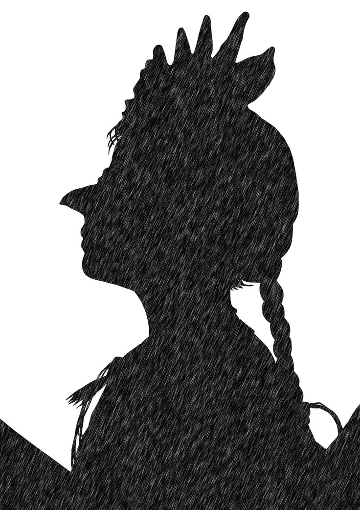 """Ilustración de Alejandro Santos para el relato """"La gallina degollada"""", incluido en """"Cuentos de horror"""" de Horacio Quiroga"""