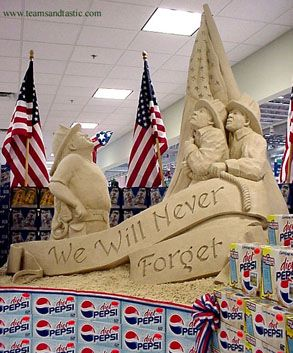 sand sculpture by Team Sandtasic ... Click on pic to see more of their awesome work