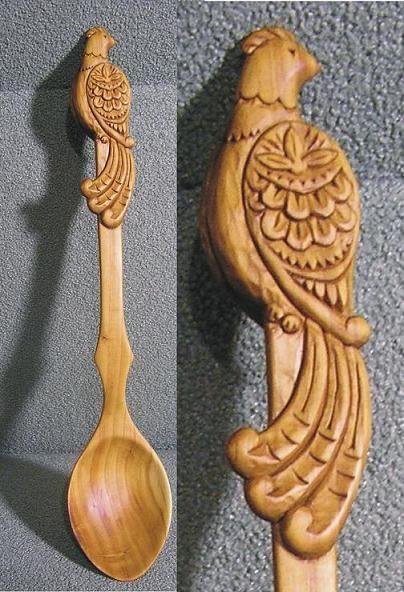 Ложка-птичка. image 1