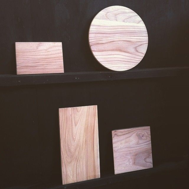 Our boards, sawn and sanded in the MEKKA workshop