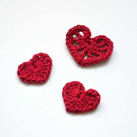 Check out this item in my Etsy shop https://www.etsy.com/ru/listing/250078495/crochet-heart-pattern-hearts-set