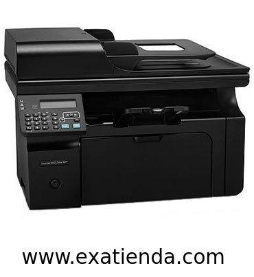 Ya disponible Multif. HP laserjet m1217nfw   (por sólo 232.95 € IVA incluído):   -Tipo de dispositivo:Impresora, copia, escáner, fax -Tecnología:Láser monocromo -IMPRESORA -Velocidad de impresión:Hasta 18 ppm -Tipos de papel: A4 A5 ISO B5 ISO C5 ISO C5/6 ISO C6 ISO DL 16K Tarjeta europea -Capacidad de la bandeja de salida:100 hojas -Display:SI -ESCANER: -Resolución:Hasta 1200 ppp -FAX:SI -Conexión PC:1 puerto USB 2.0 de alta velocidad, 1 puerto de red Ethernet 10/ 1