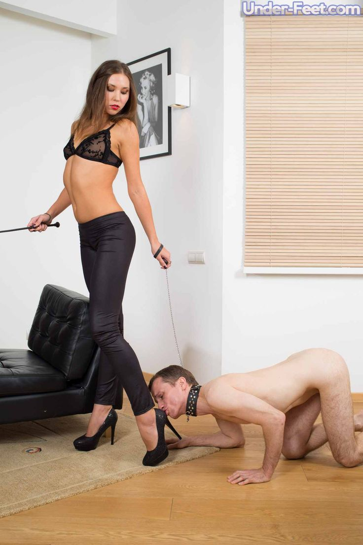 Hot Girl Biting Hard Femdom With Whimpering Loser
