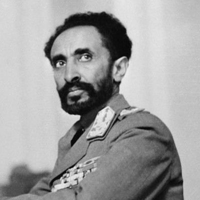 This is Haile Selassie, former emperor of Ethiopia. Who is he claimed to be a descendant of? King Solomon.