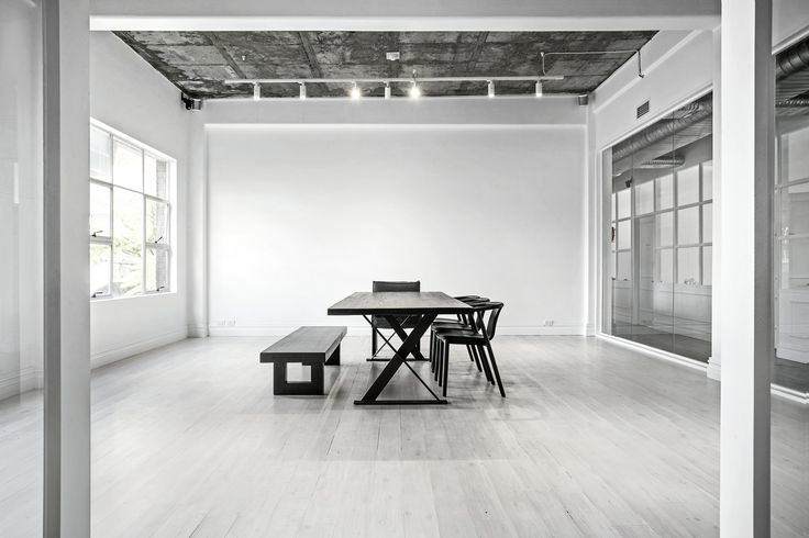 Elevated Presentation Room at La Porte Space