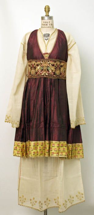 Greek ensemble via The Costume Institute of the Metropolitan Museum of Art