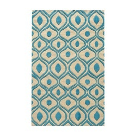Blue or Orange or Gray? Area rug from Target