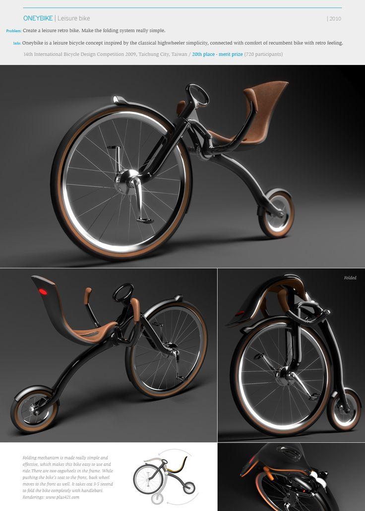 The Oneybike | Designer: Peter Varga