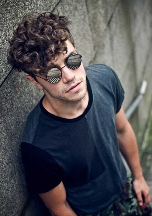 Astounding Top 10 Curly Hairstyles For Men Hair Grab Hairstyle Inspiration Daily Dogsangcom