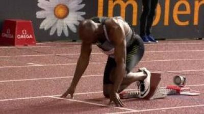 LaShawn Merritt Wins Men's 400m | Lausanne Diamond League 2016