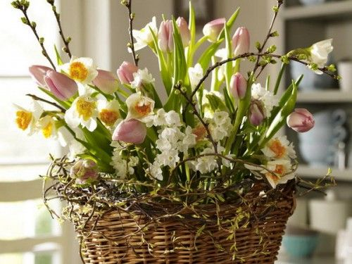 Love this arrangement for Easter