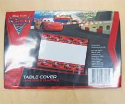 A068271 - Disney Cars Tablecover  Please note: approx. 14 day delivery time. www.facebook.com/popitinaboxbusiness