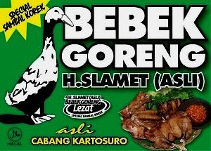 Kuliner Ojek Kilat Malang: Bebek Goreng H Slamet