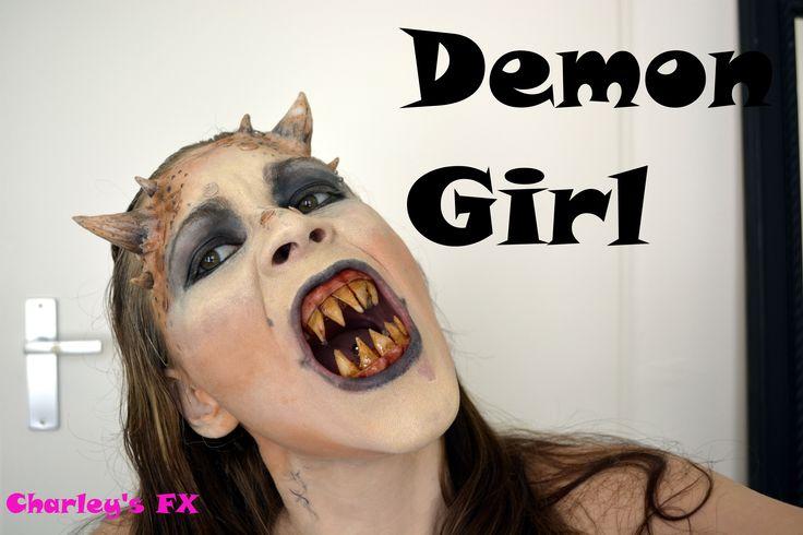 Demon girl tutorial for Halloween idea