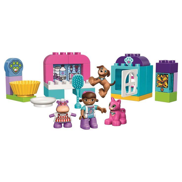 LEGO® DUPLO® Centrul Plusicai de ingrijire a animalelor 10828