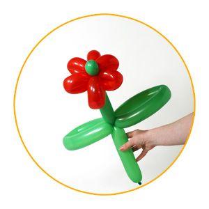 Hacer Flores Con Globos Como Hacer Flores Con Globos Largos