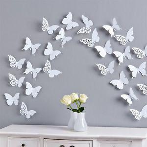 Spectacular Schmetterlinge D Wandtattoo Wanddeko Wanddekoration Wandtattoos Wand Deko D