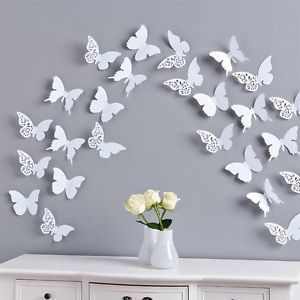 Cute Schmetterlinge D Wandtattoo Wanddeko Wanddekoration Wandtattoos Wand Deko D