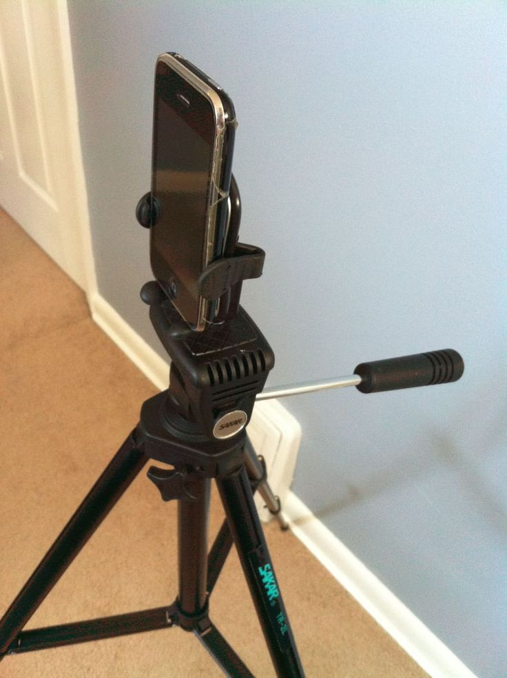 DIY IPhone / Smartphone Tripod Connector | Phone tripod