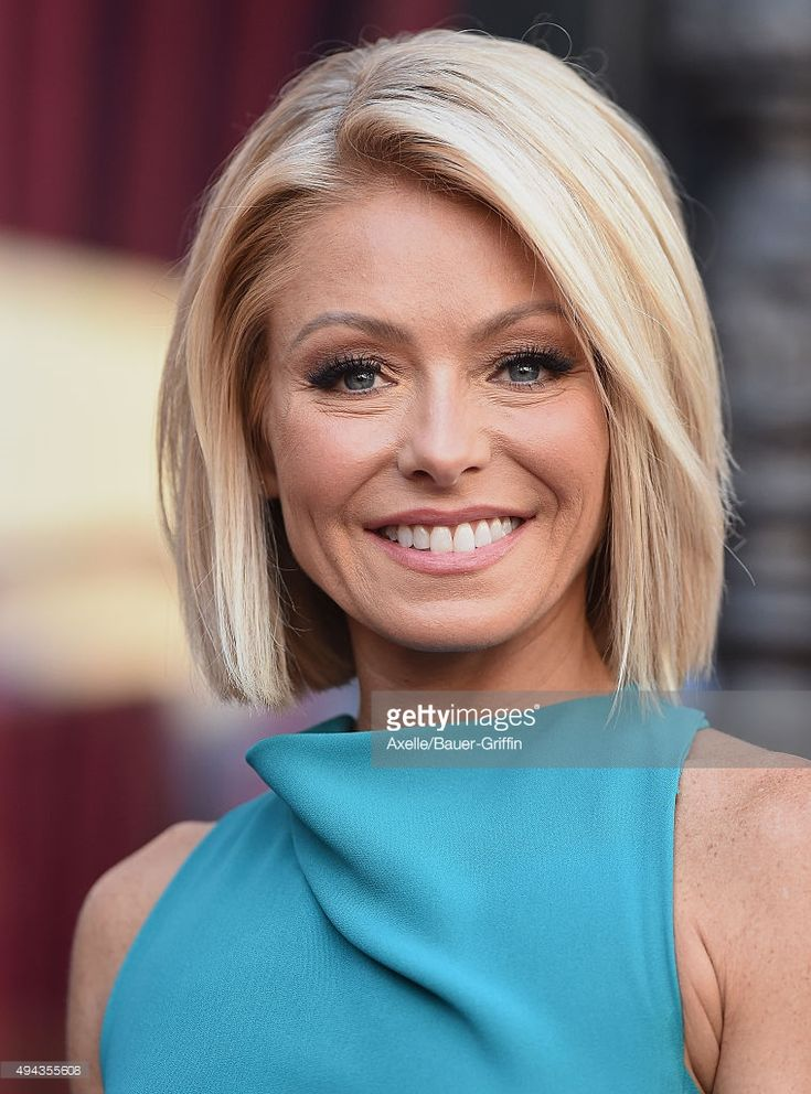 Kelly Ripa is honored with a star on the Hollywood Walk of Fame on October 12, 2015 in Hollywood, California.