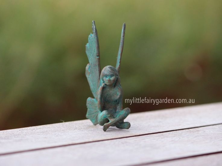 Alana - The Iron Fairies My Little Fairy Garden