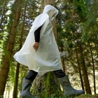 """The result is a 100% biodegradable and compostable product.This means that at the end of its life cycle it converts into organic matter and is returned in its entirety to the biosphere; closing the loop. To reinforce this concept, the rain coat has a small clay ball with seeds integrated into it,developed by a Japanese microbiologist. This way the wearer can plant the raincoat when it's no longer needed. The """"spudcoat"""" doesn't just return entirely to the natural cycle, it also helps the…"""