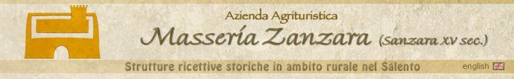 Masseria Zanzara, strutture ricettive storiche in ambito rurale nel Salento
