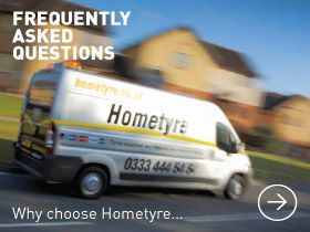 FAQ | Cheap new tyres online | Hometyre mobile tyre fitters