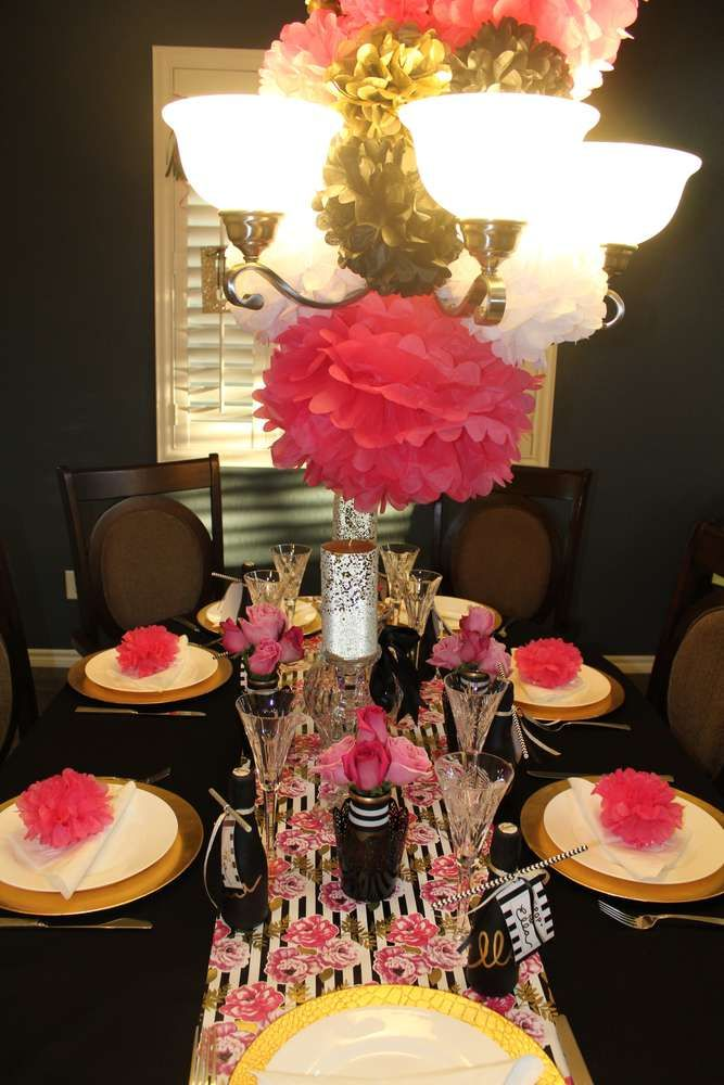 Kate Spade Inspired Baby Shower Party Ideas