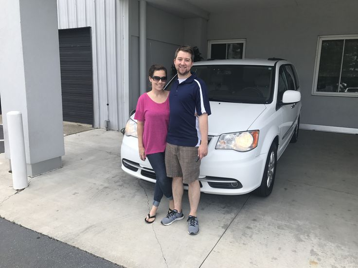 Jonathan and Kate were looking at a newer vehicle to fit their needs but wanted something with some premium features. Sales Consultant Jesse Golsby put them behind the wheel of this sharp looking 2015 Chrysler Town & Country! Congratulations to you both and thank you for coming in to see us! https://www.zimmermotor.com/staff.aspx