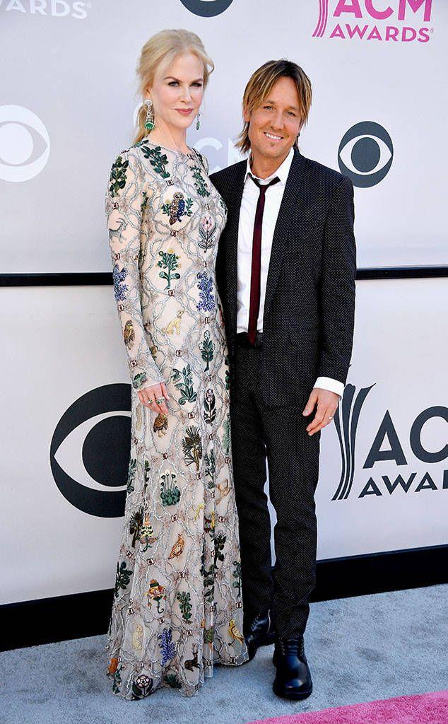 Nicole Kidman & Keith Urban from ACM Awards 2017