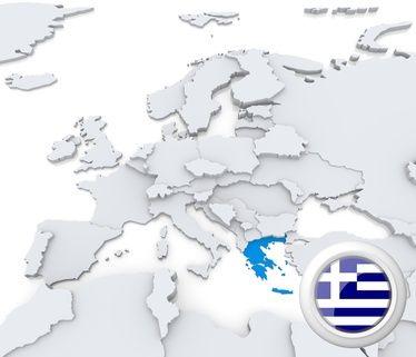 EURODANE - gospodarka Grecji , PKB, inflacja, ludność, giełda, finanse, deficyt