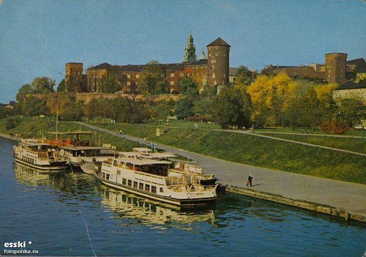 Rzeka Wisła (Kraków), Kraków - 1980 rok, stare zdjęcia