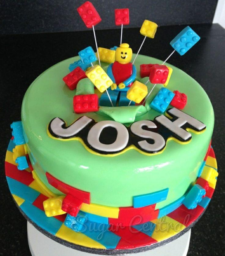 Birthday Cake Ideas Lego : 47 best Lego birthday cakes images on Pinterest Lego ...