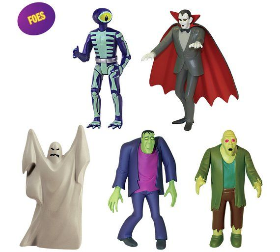 Buy Scooby Doo Friends and Foes Figure Pack at Argos.co.uk, visit Argos.co.uk to shop online for Action figures and toys, Clearance Toys, Toys